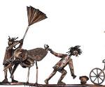 Dachrinnenfiguren aus Kupfer, Ton oder Zink