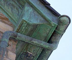 Dachrinne kupfer alt  Kupferdachrinne - Dachrinne montieren