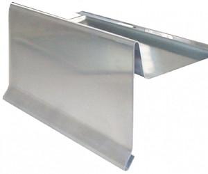 Traufblech anbringen  Ortgangblech anbringen und befestigen auch am Flachdach